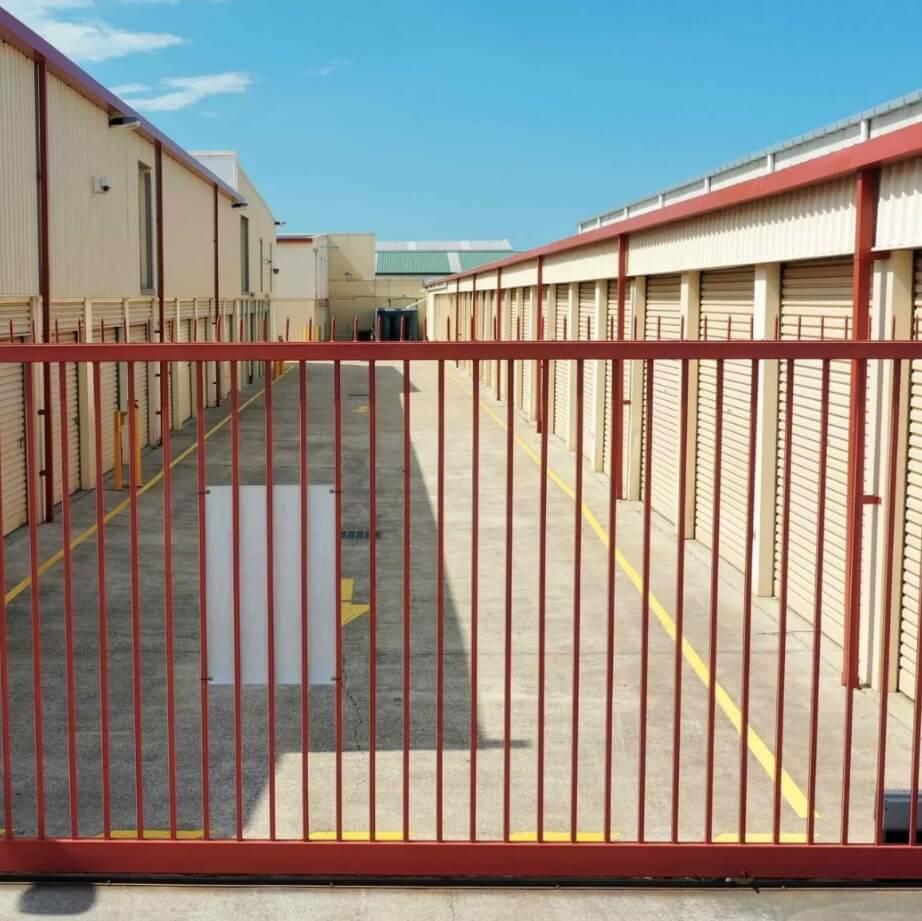 Self Storage Back Gate