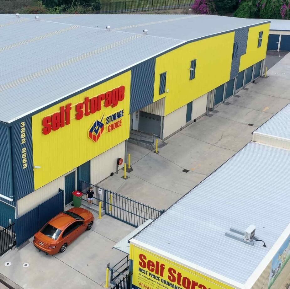 Self Storage Ipswich Signage