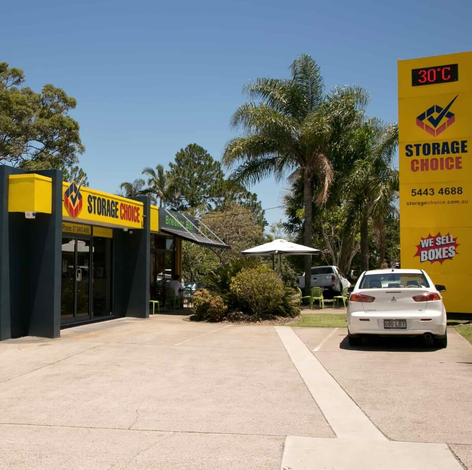 Front office at Maroochydore Storage Choice