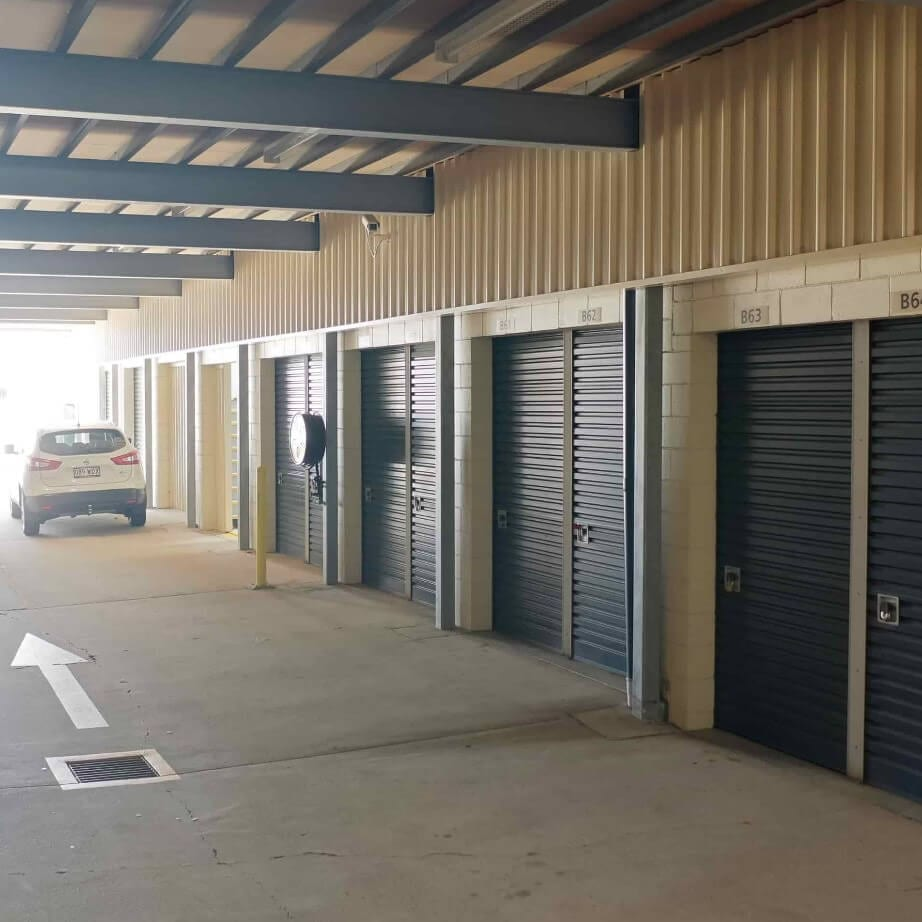 Undercover self storage sheds at Strathpine