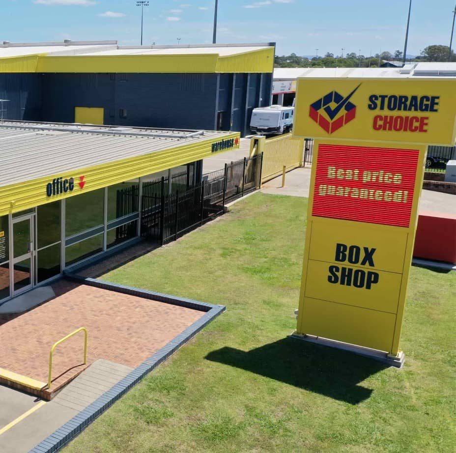 Zillmere Box Shop Sign