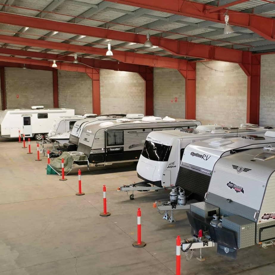 Zillmere Undercover Caravan Storage