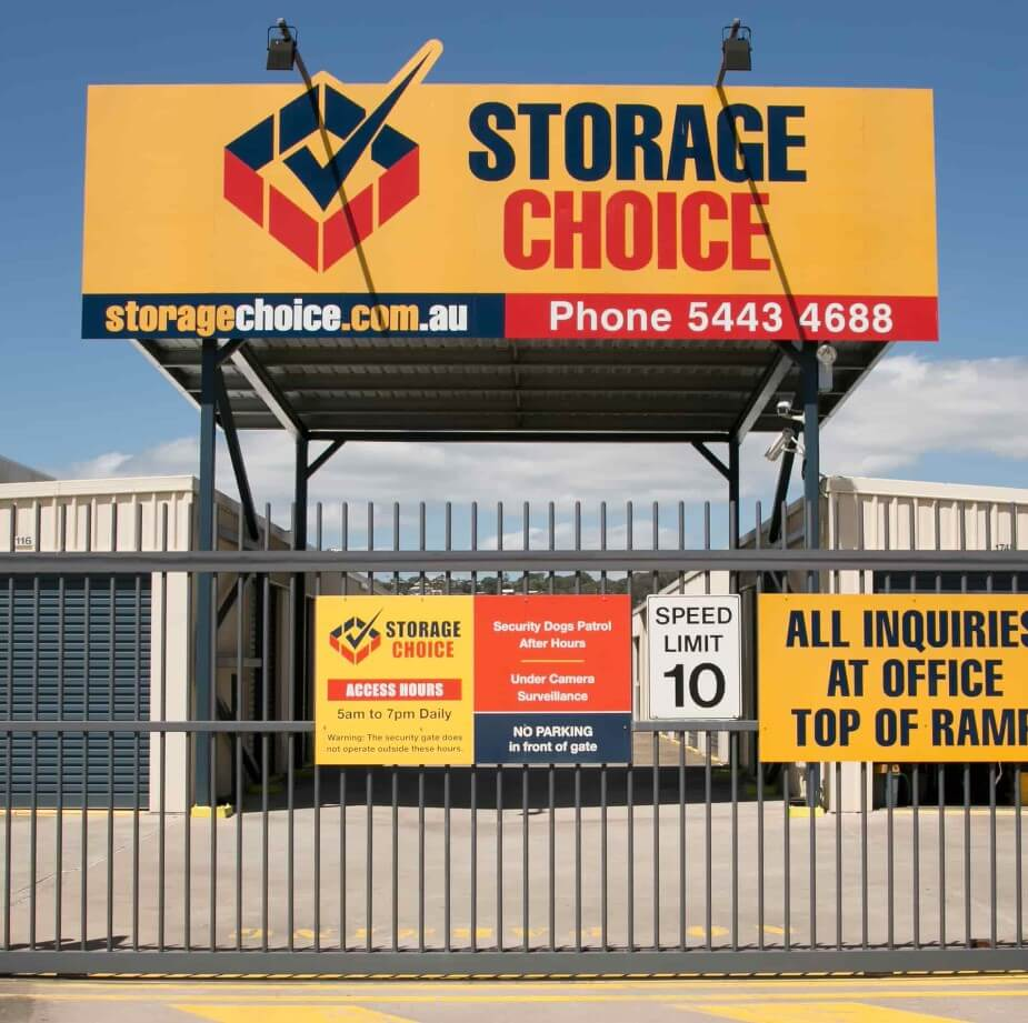 Self Storage Maroochydore Front Gate
