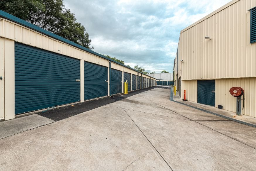 Ipswich self storage drive up sheds