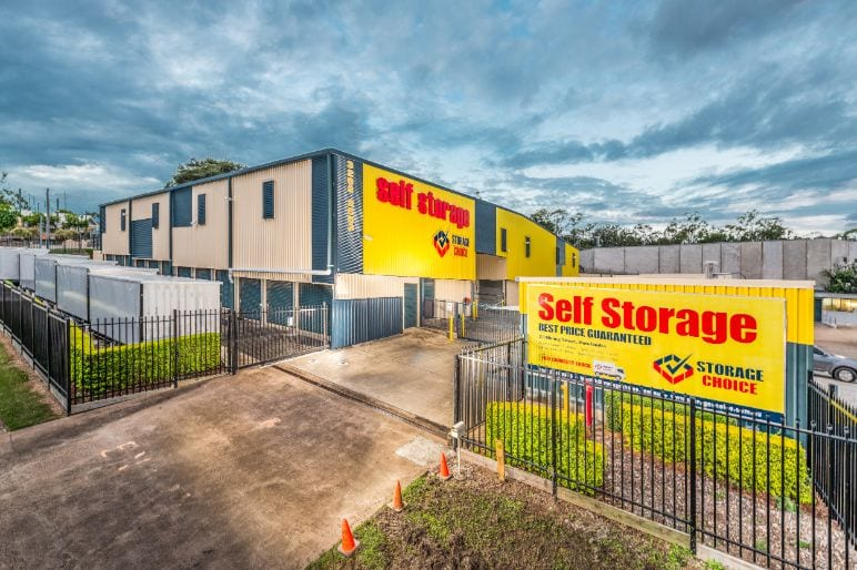 Ipswich self storage facility