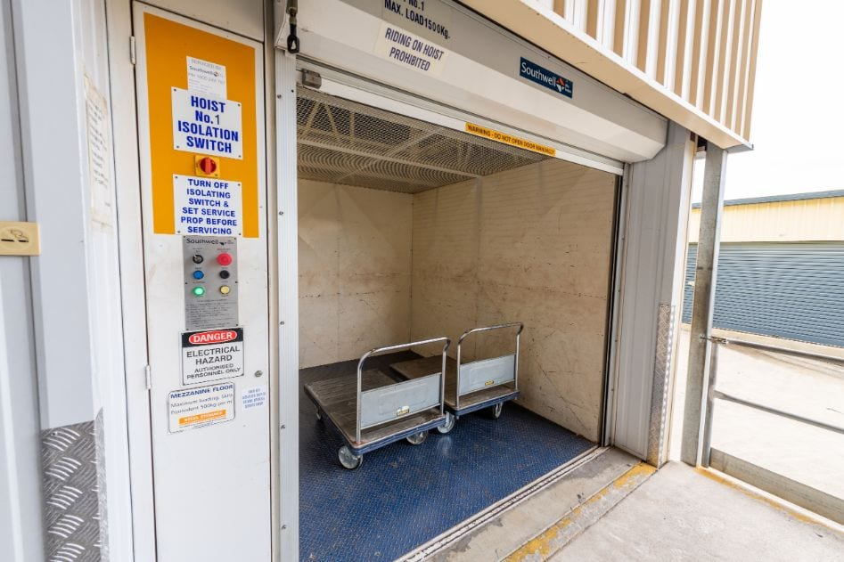 Ipswich self storage trolleys